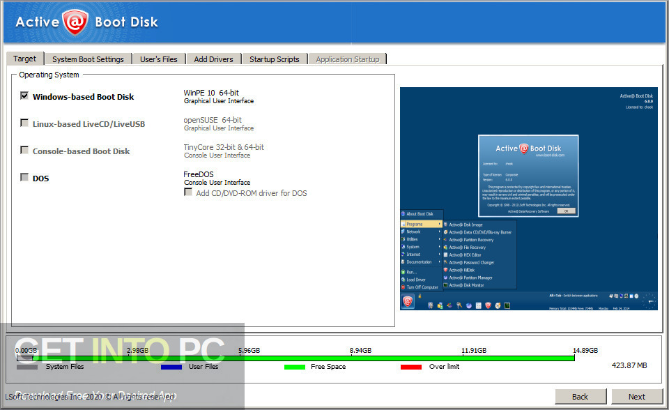 Active Boot Disk 2020 Latest Version Download GetIntoPC.com