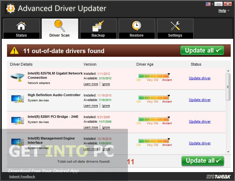 Advanced Driver Updater 2020 Latest Version Download