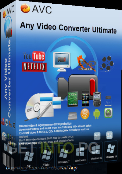 Any Video Converter Ultimate 2021 Free Download PcHippo