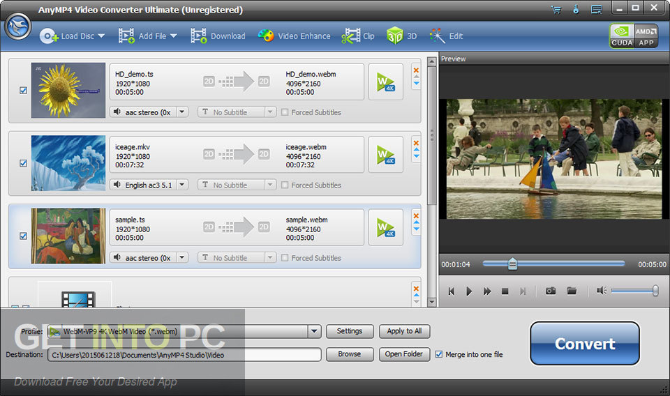 AnyMP4 Video Converter Ultimate Latest Version Download