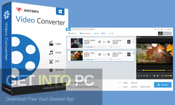 AnyMP4 Video Converter Ultimate Free Download PcHippo