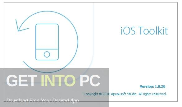 Apeaksoft iOS Toolkit Free Download PcHippo