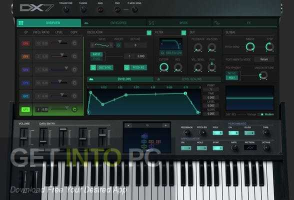 Arturia-DX7 Latest Version Download-GetintoPC.com