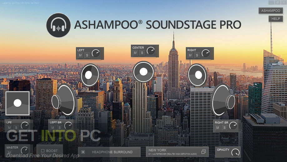 Ashampoo Soundstage Pro 2020 Latest Version Download