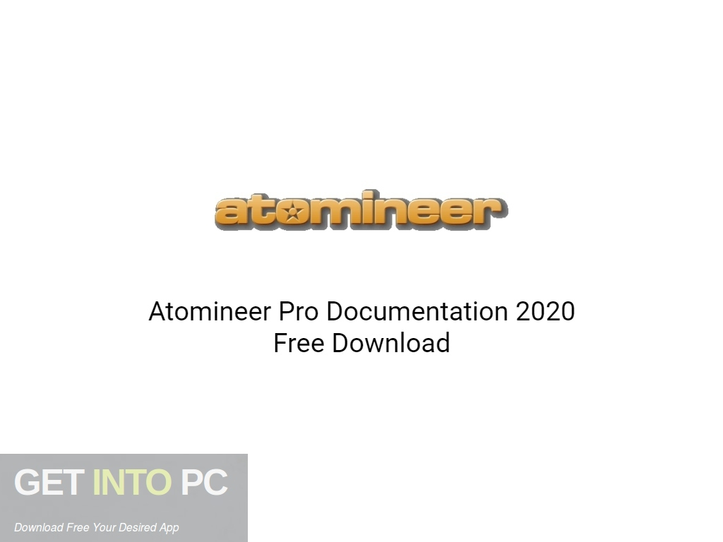 Atomineer Pro Documentation 2020 Free Download PcHippo