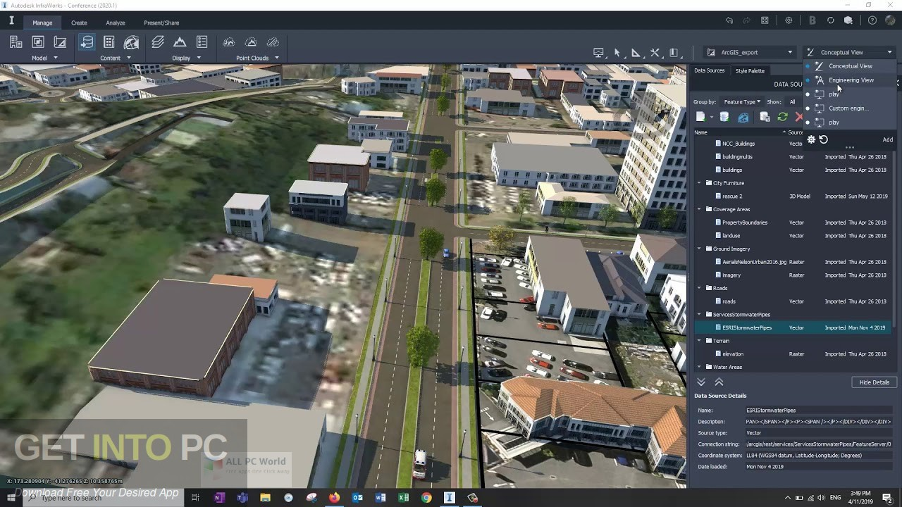 Autodesk InfraWorks 2020 Latest Version Download