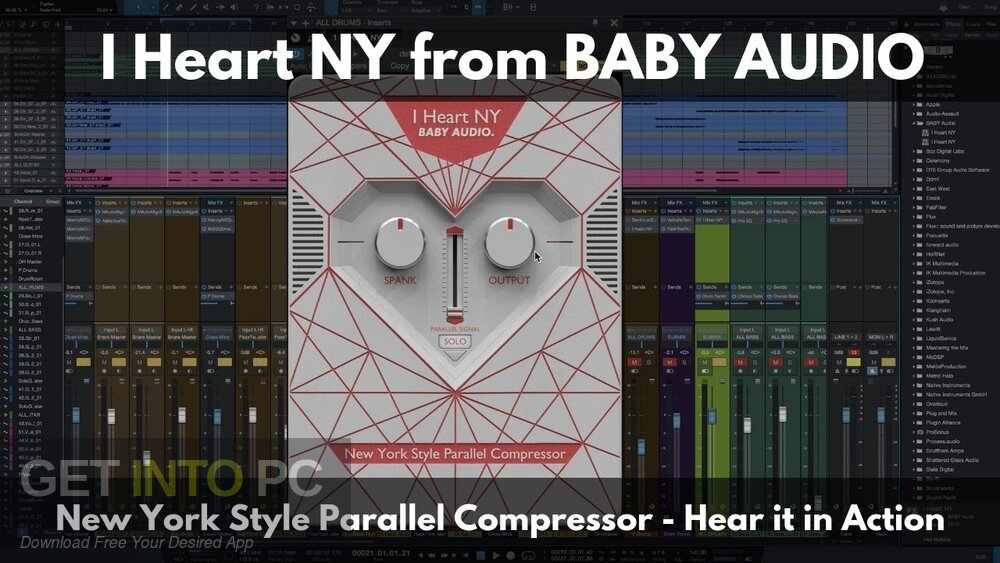 BABY Audio - I Heart NY Parallel Compressor Latest Version Download