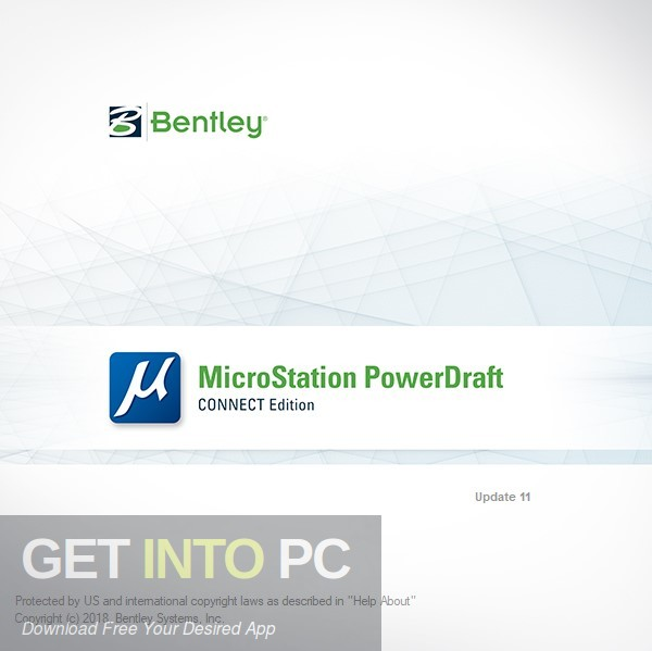 Bentley MicroStation PowerDraft CONNECT Edition Download PcHippo