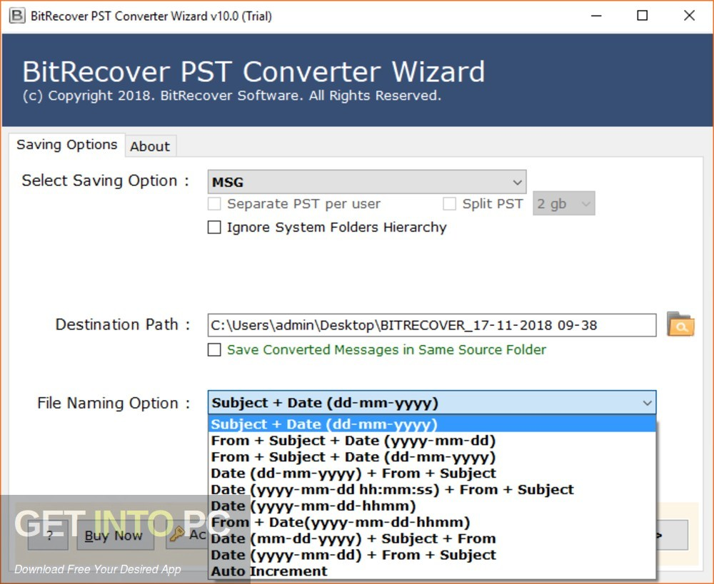BitRecover MBOX to PDF Wizard Latest Version Download