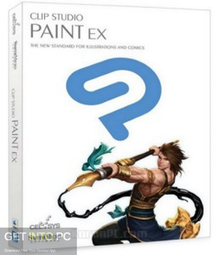 Clip Studio Paint EX + Materials Free Download PcHippo