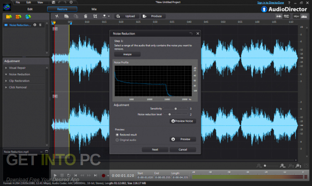 CyberLink AudioDirector Ultra 2020 Latest Version Download