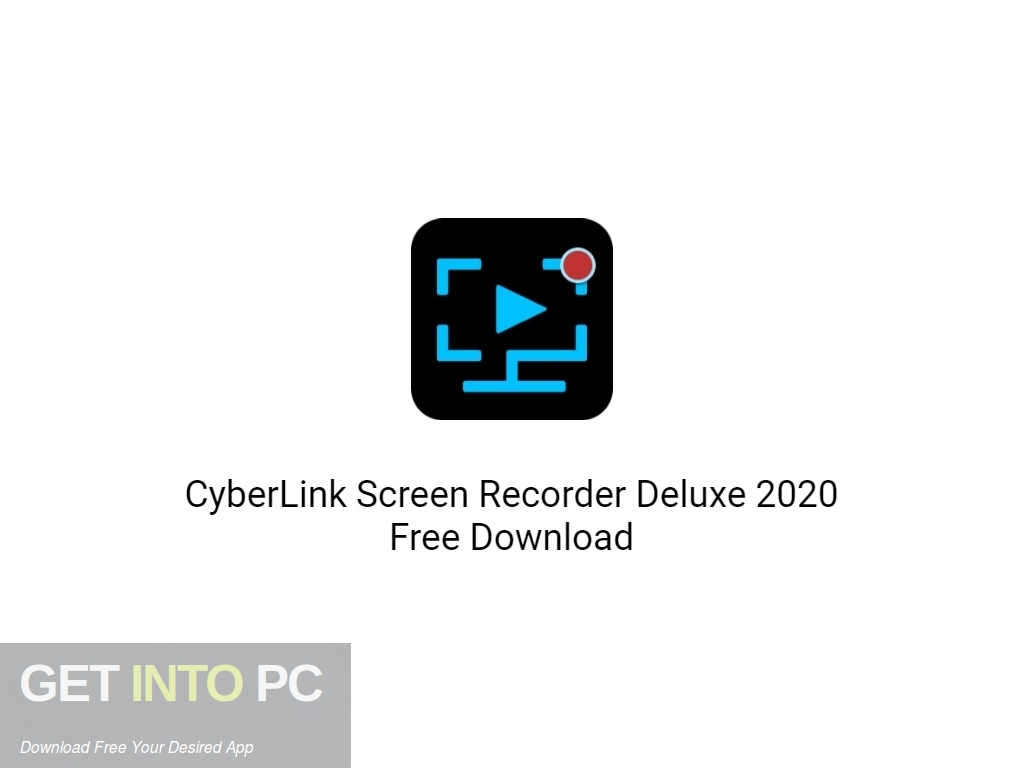 CyberLink Screen Recorder Deluxe 2020 Free Download PcHippo