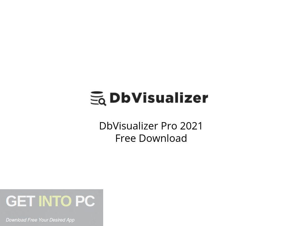 DbVisualizer Pro 2021 Free Download PcHippo