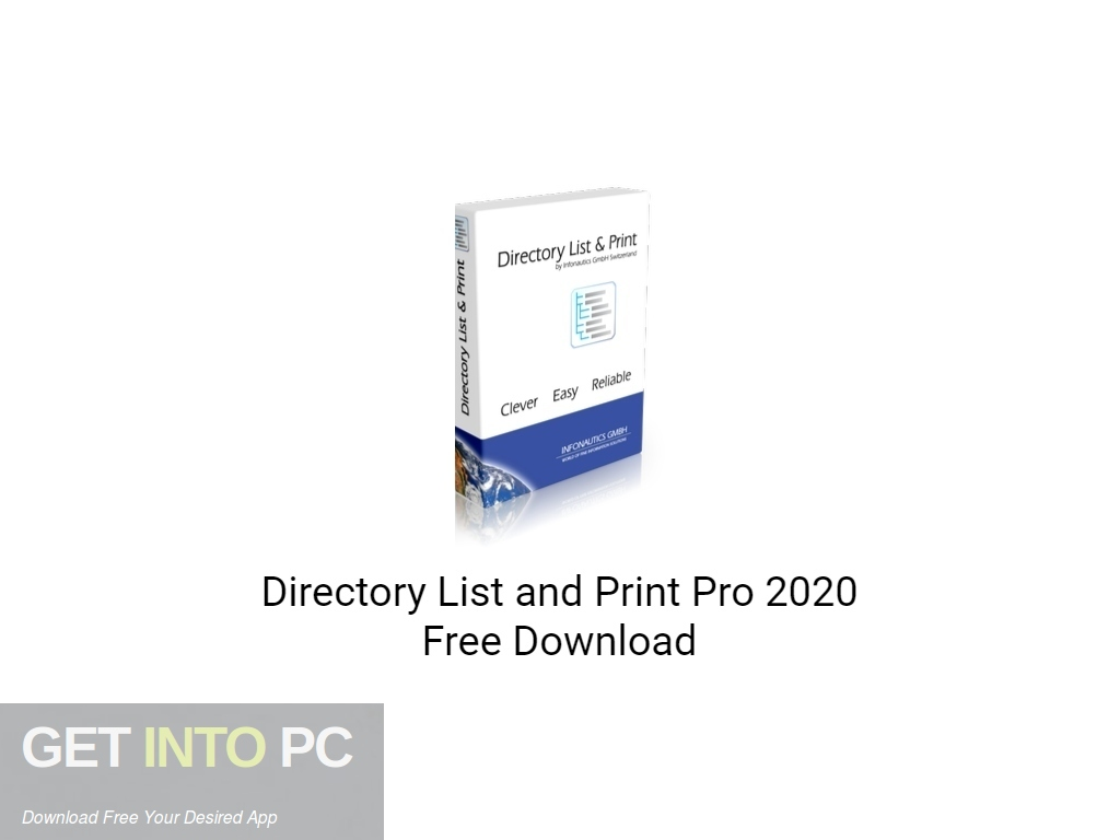 Directory List and Print Pro 2020 Free Download PcHippo