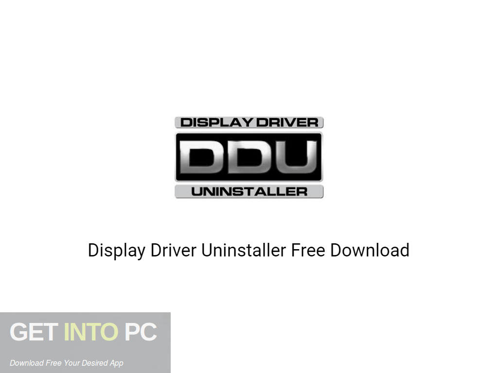 Display Driver Uninstaller 2020 Free Download PcHippo