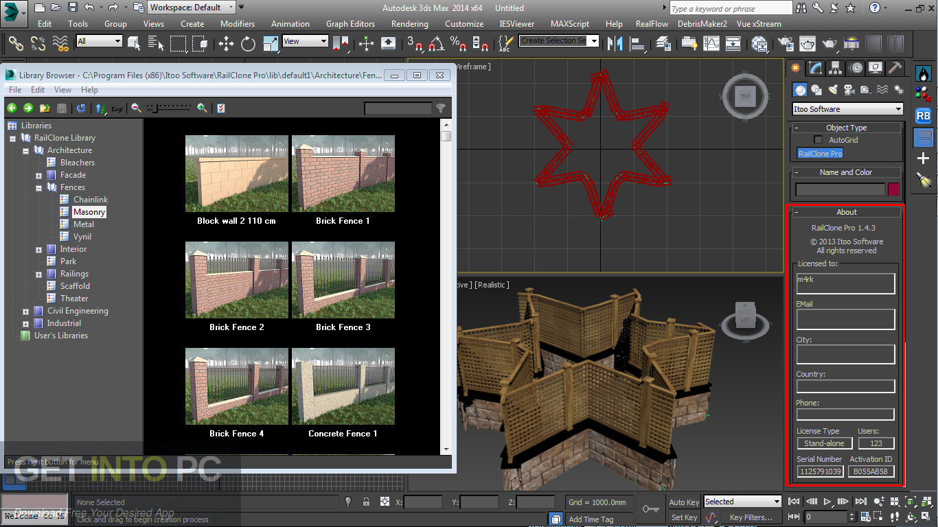Itoo RailClone Pro for 3ds Max Offline Installer DOwnload-GetintoPC.com