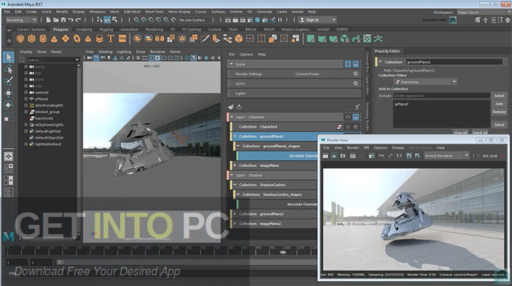 Mental Ray for Maya 2017 Offline Installer Download-GetintoPC.com