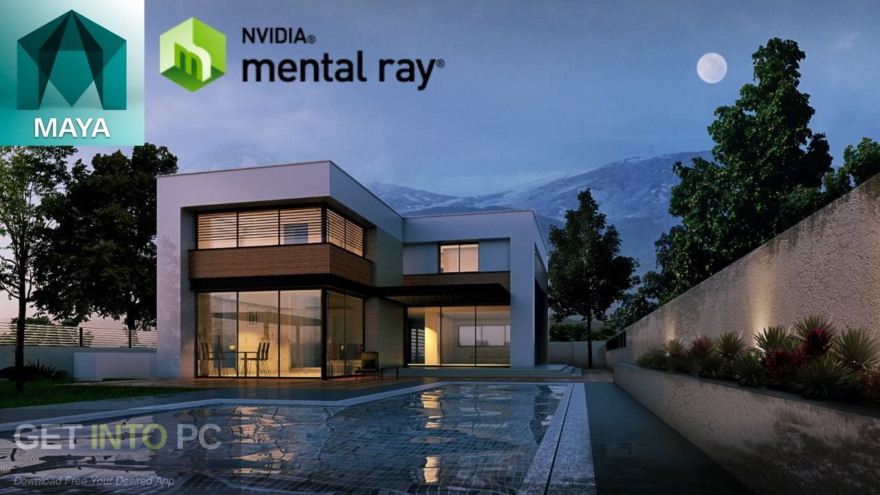 Mental Ray for Maya 2017 Free Download-GetintoPC.com