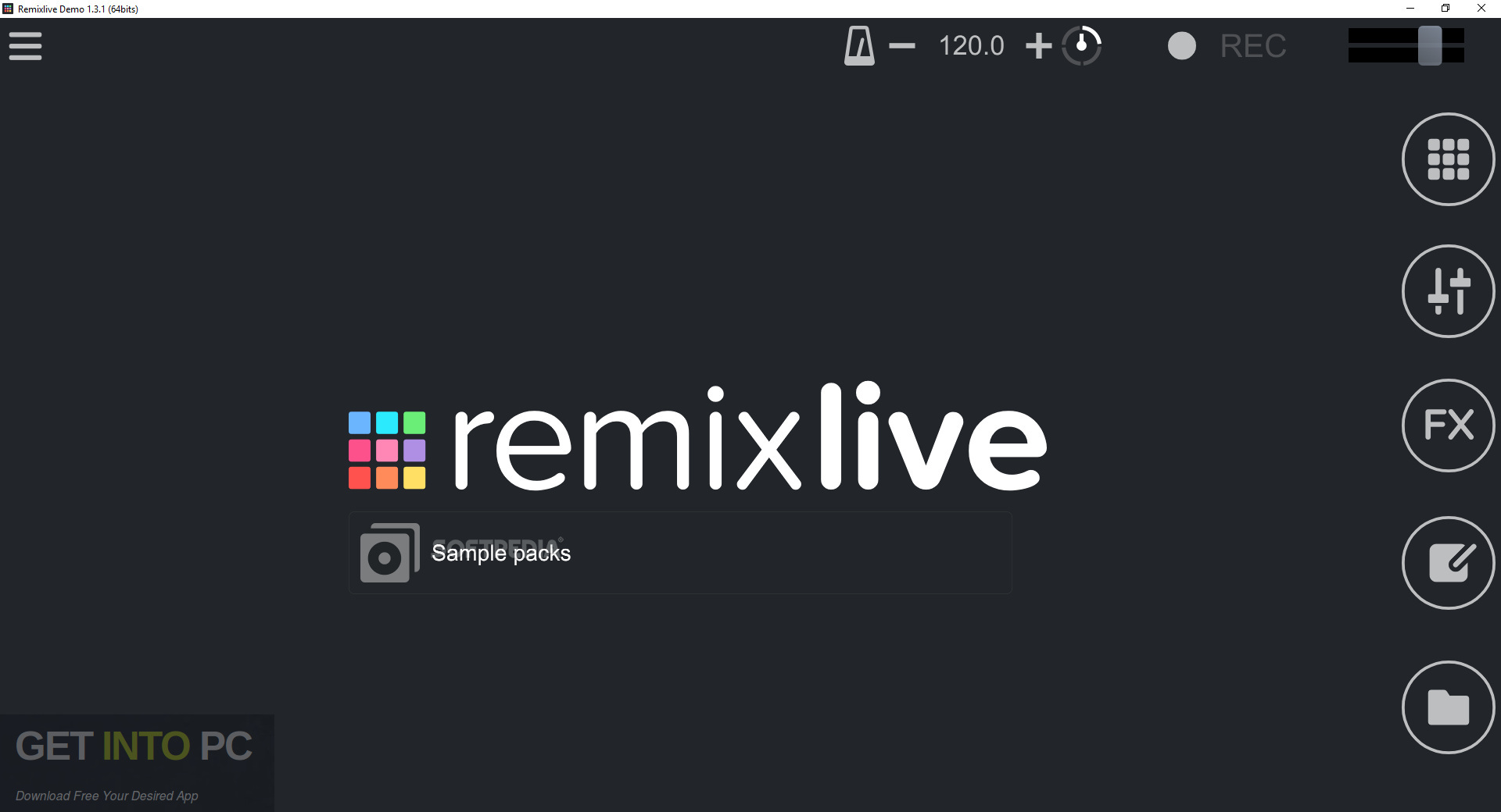 Mixvibes Remixlive for Windows Free Download-GetintoPC.com