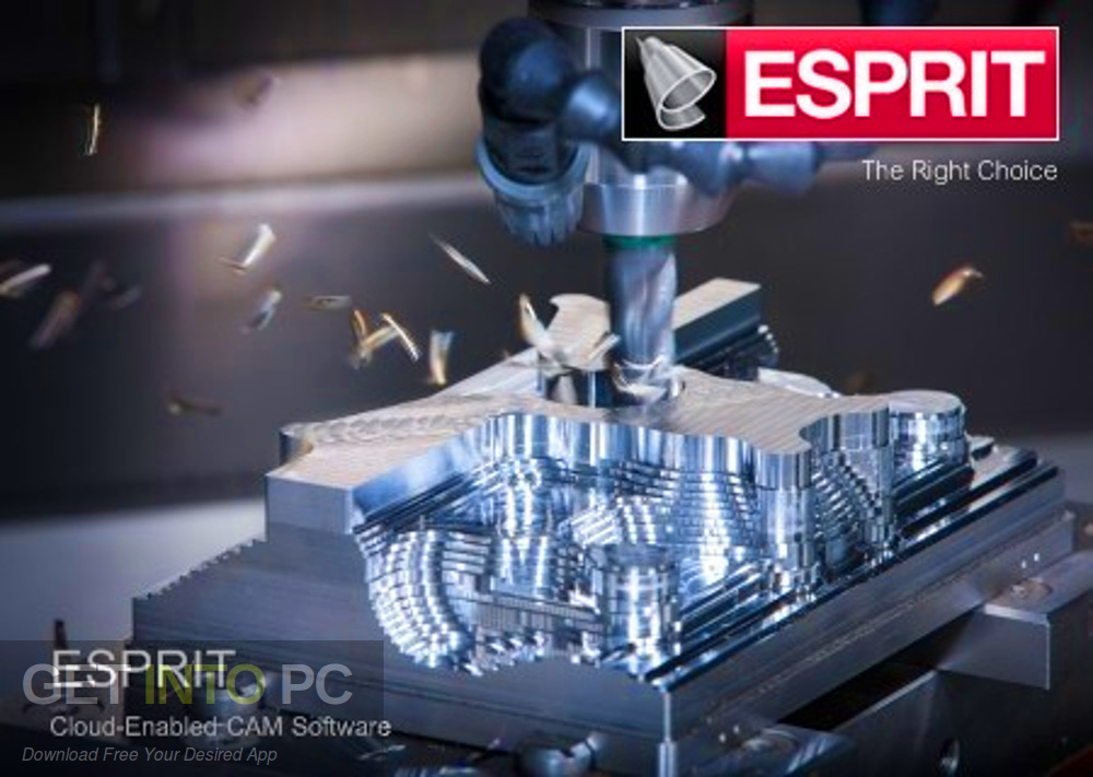 DP Technology ESPRIT 2020 R1 Free Download-GetintoPC.com