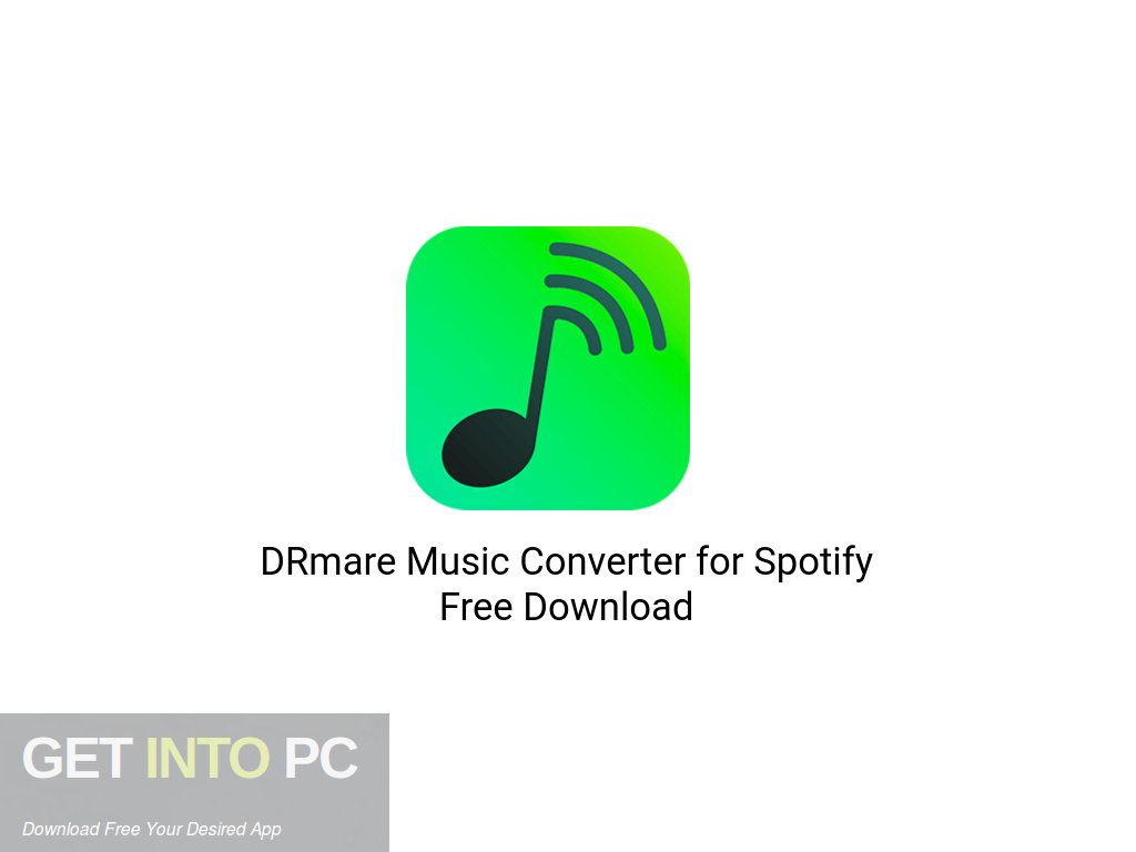 DRmare Music Converter for Spotify Free Download PcHippo