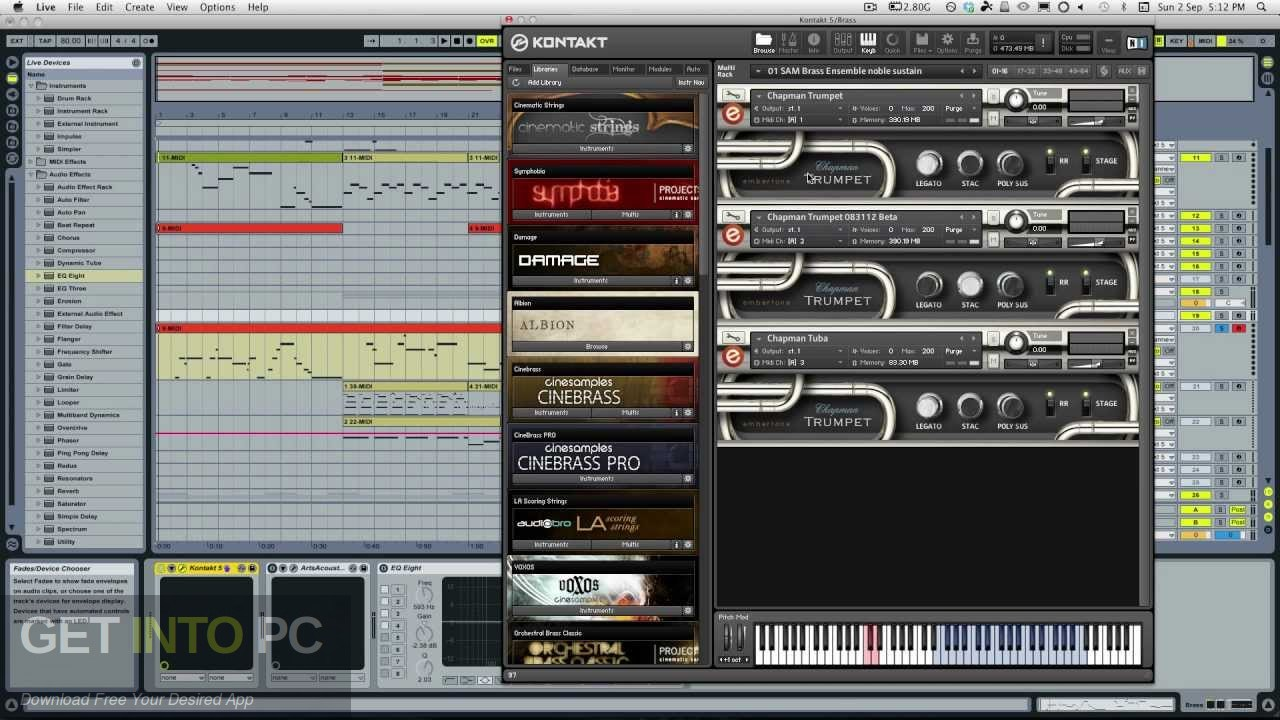 Embertone - Chapman Trumpet (KONTAKT) Direct Link Download