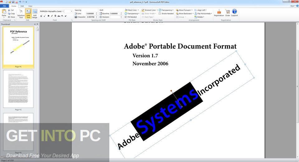 EximiousSoft PDF Editor Latest Version Download