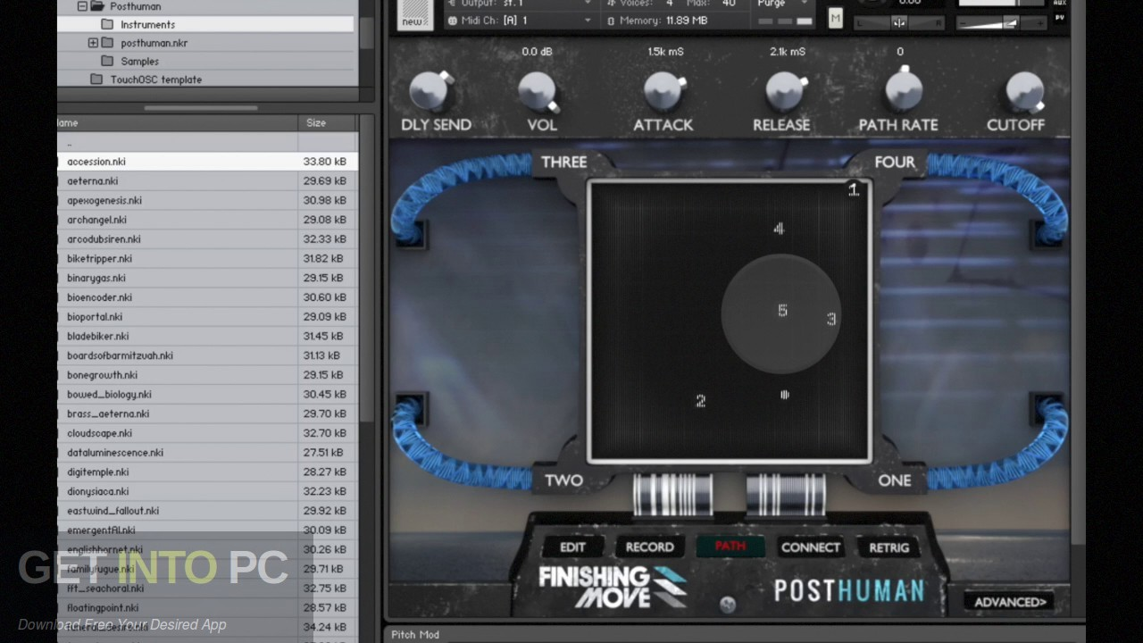 Finishing Move - Posthuman (KONTAKT) Offline Installer Download