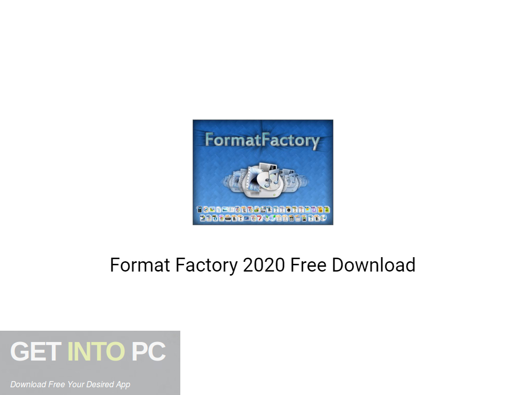 Format Factory 2020 Free Download PcHippo