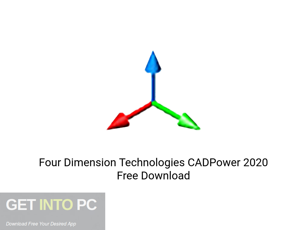 Four Dimension Technologies CADPower 2020 Free Download PcHippo