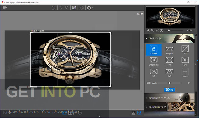 InPixio Photo Maximizer Pro 2020 Offline Installer Download