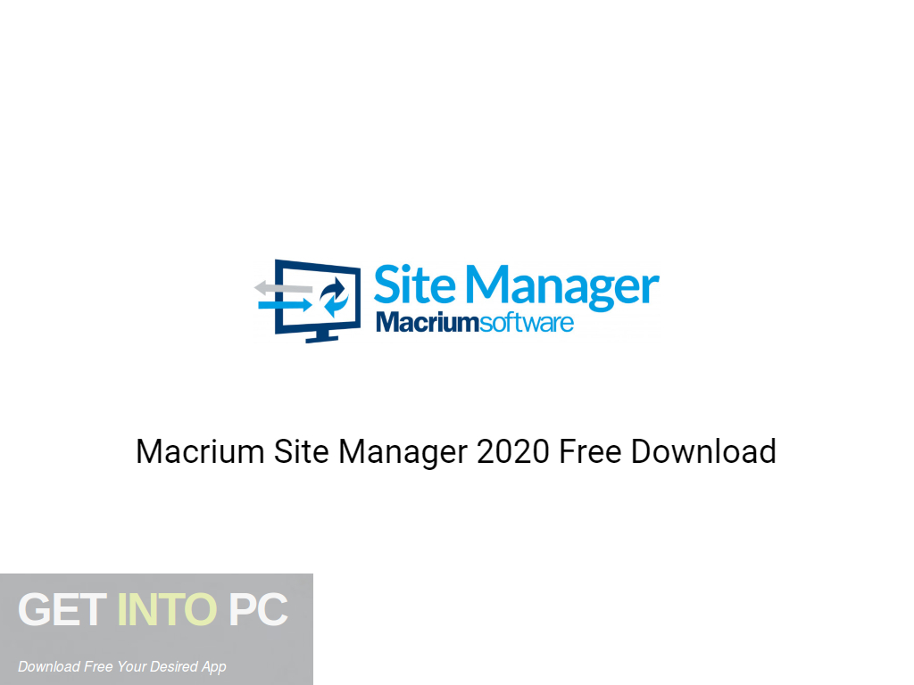 Macrium Site Manager 2020 Free Download-GetintoPC.com