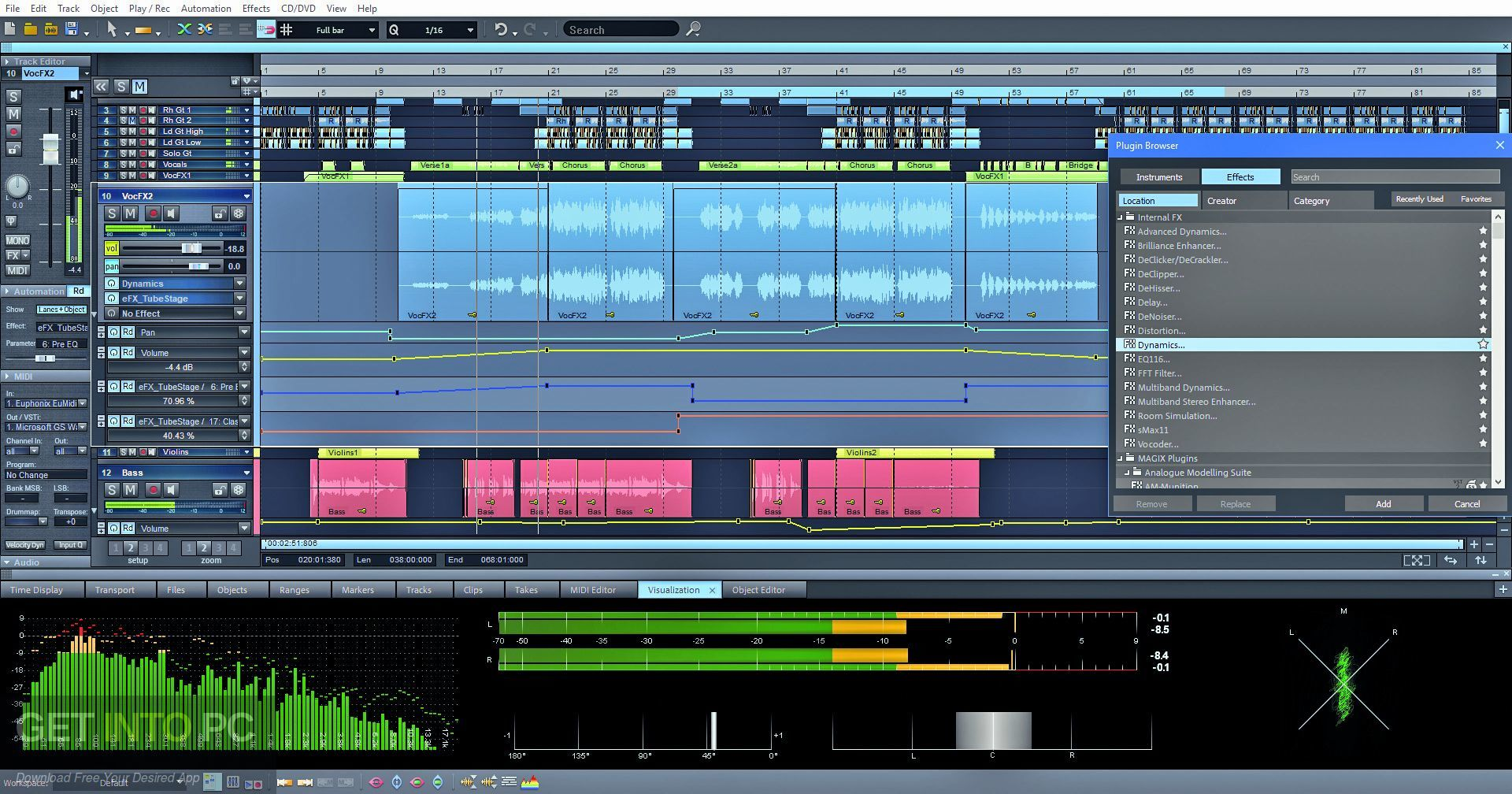 MAGIX Samplitude Pro X5 Suite Direct Link Download