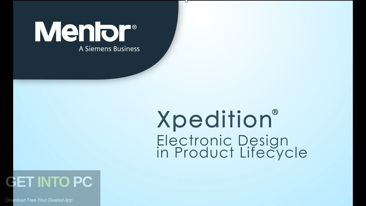 Mentor Graphics Xpedition Enterprise 2020 Free Download PcHippo