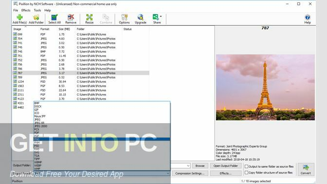NCH Pixillion Image Converter Plus 2020 Direct Link Download