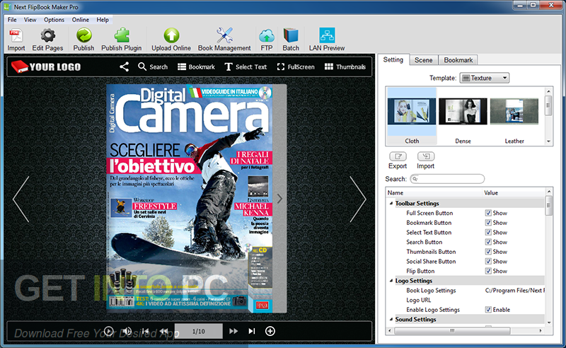 Next FlipBook Maker Pro Direct Link Download-GetintoPC.com