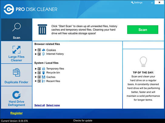 Pro disk cleaner free download