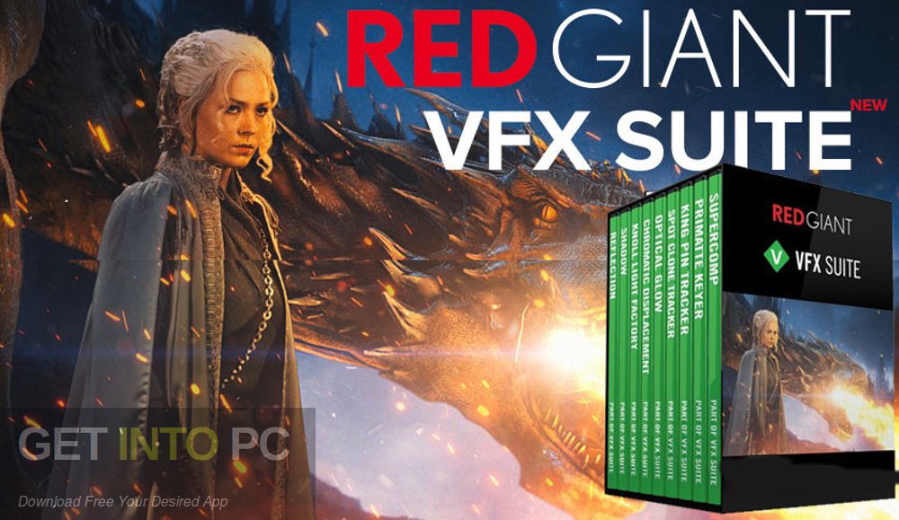 Red Giant VFX Suite 2020 Free Download