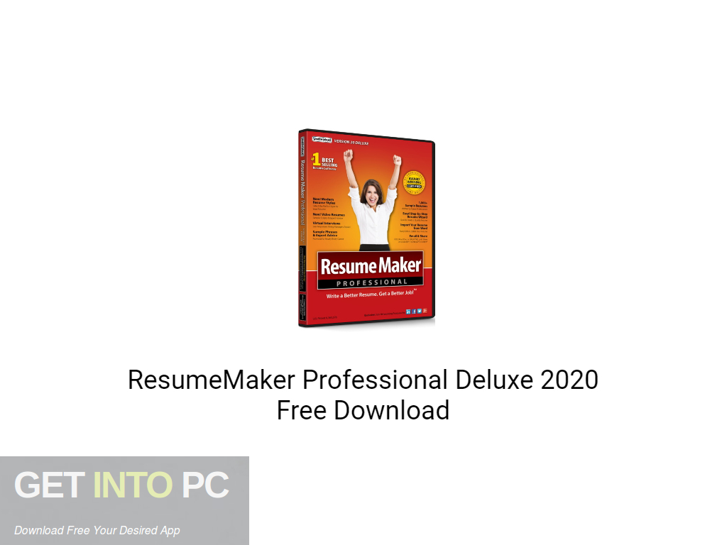 ResumeMaker Professional Deluxe 2020 Free Download PcHippo