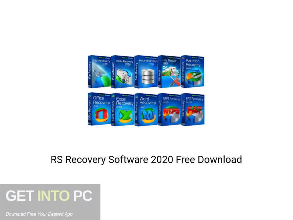 RS Recovery Software 2020 Free Download PcHippo