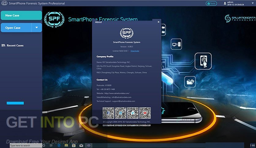 SmartPhone Forensic System Professional Offline Installer Download