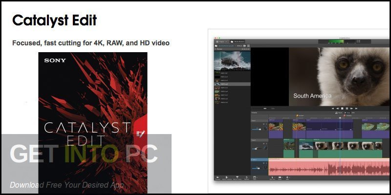 Sony Catalyst Edit Free Download