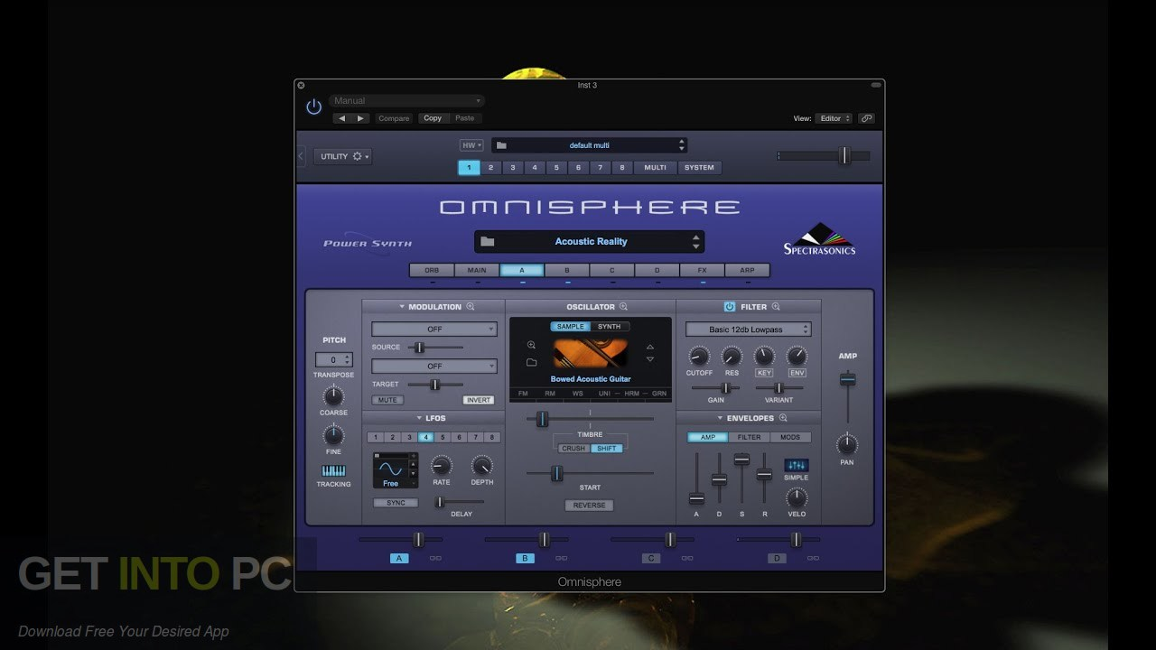 Soundsdivine – Acoustic Reality (OMNISPHERE) Free Download PcHippo