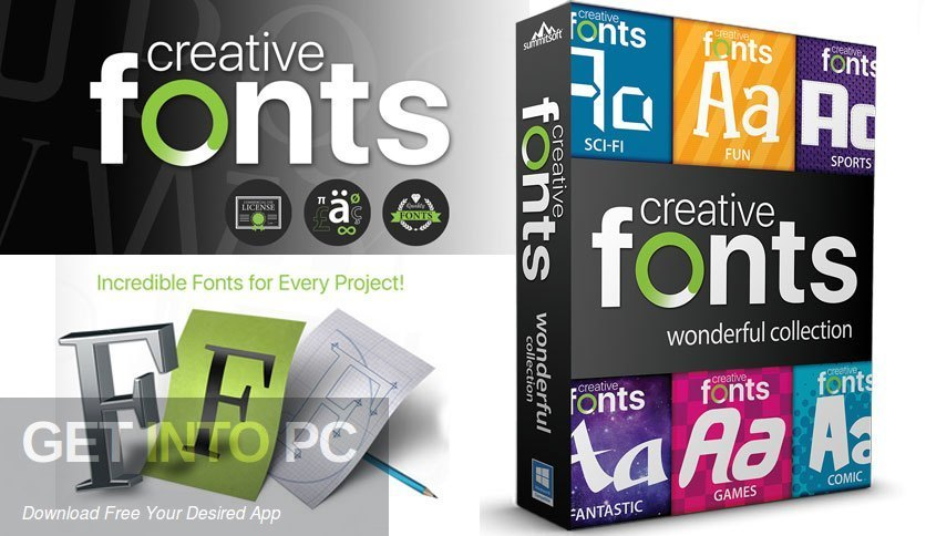 Summitsoft Creative Fonts Collection 2020 Free Download PcHippo