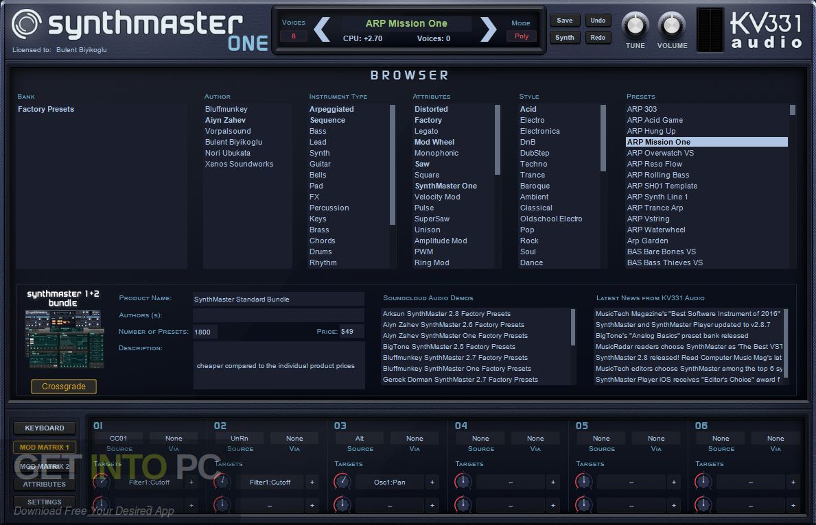 SynthMaster ONE VST Direct Link Download-GetintoPC.com
