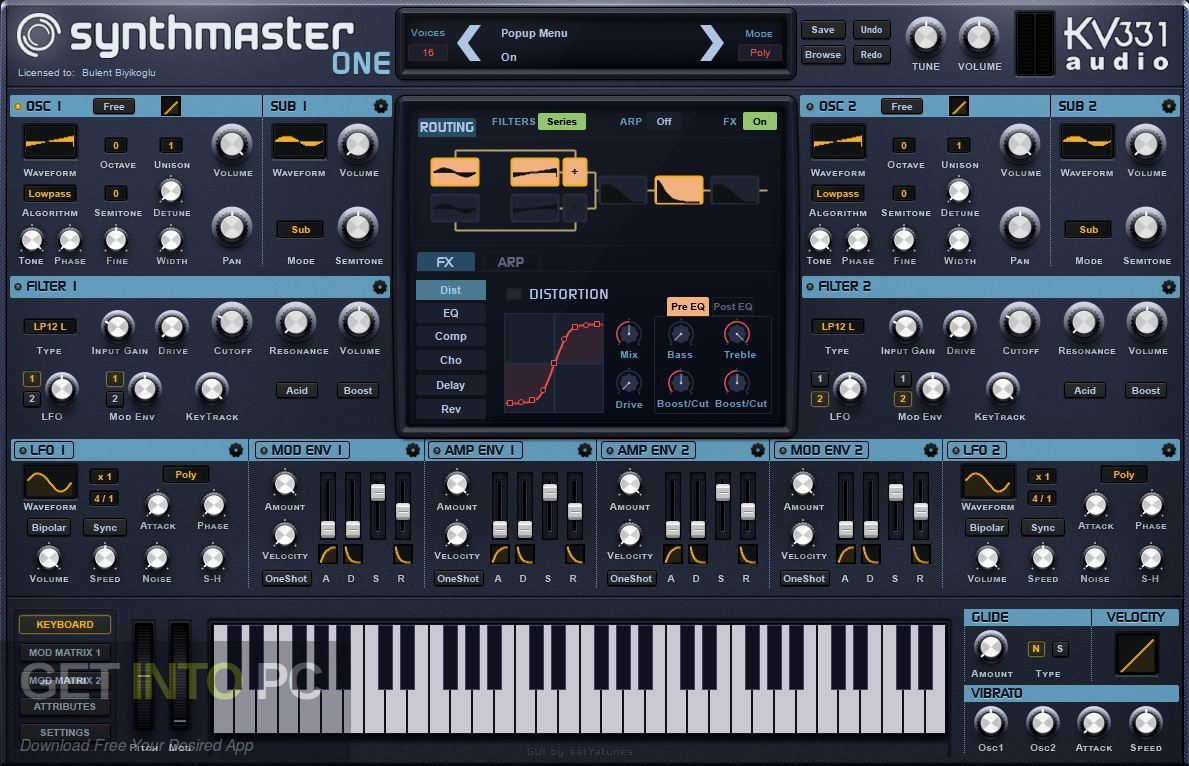 SynthMaster ONE VST Latest Version Download-GetintoPC.com