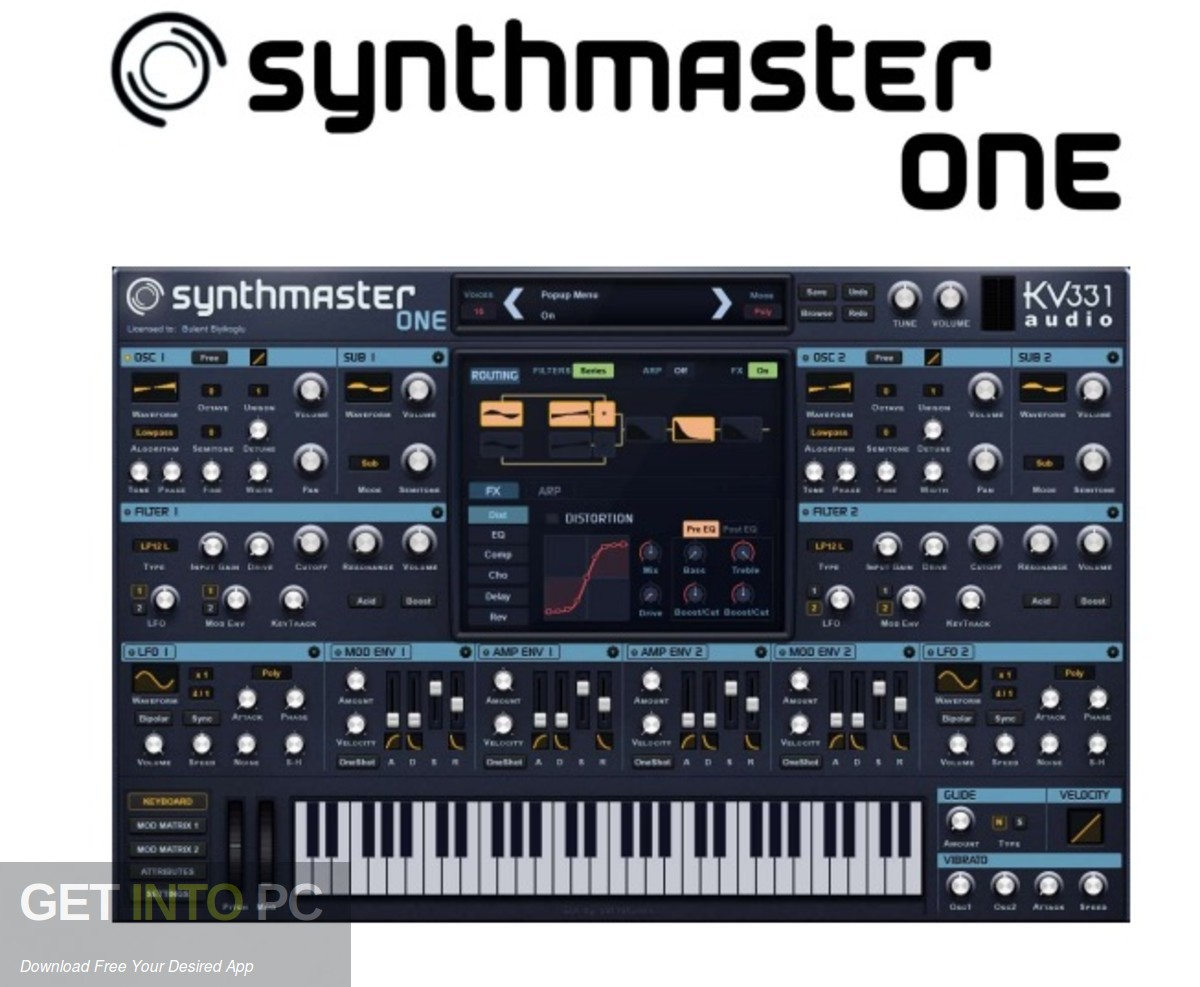 SynthMaster ONE VST Free Download PcHippo