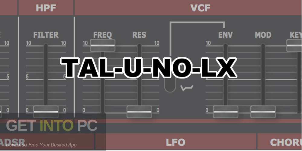 TAL-U-NO-LX VST Free Download PcHippo