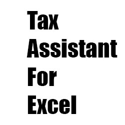 Tax Assistant For Excel Free Download PcHippo