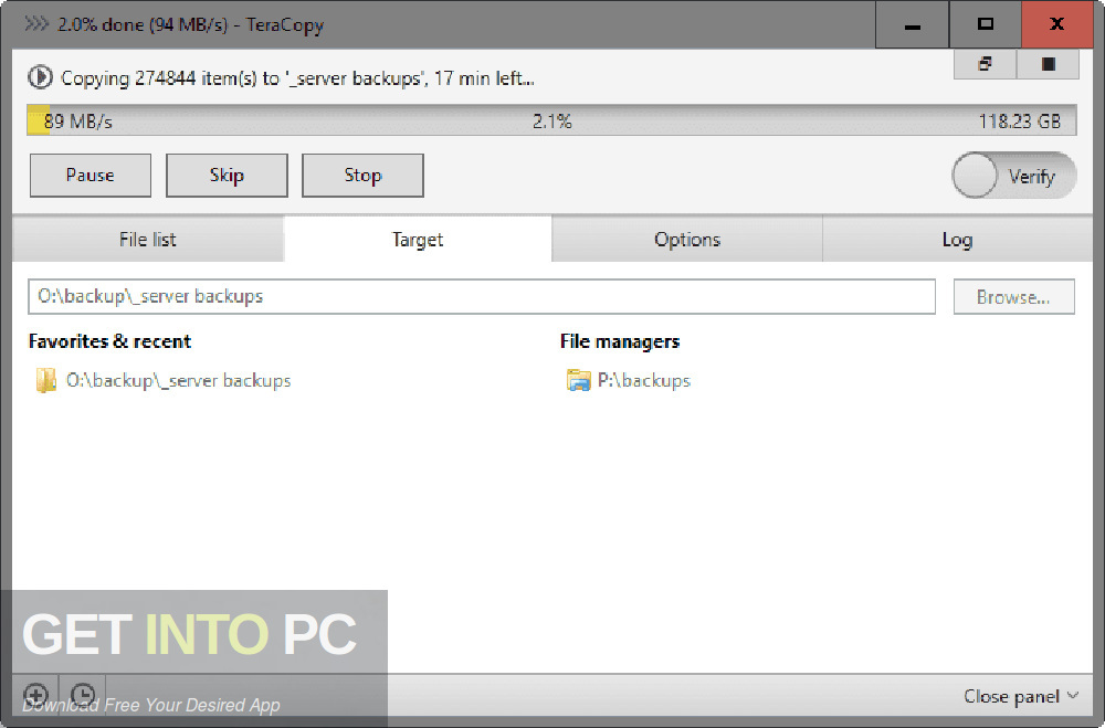TeraCopy Pro 2020 Direct Link Download